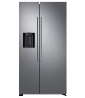 Side by Side Samsung RS67N8210S9, 608 l, Clasa A+, H 178 cm, No Frost, Compresor Inverter, Inox