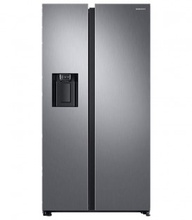 Side by Side Samsung RS68N8321S9, 617 l, Clasa A++, H 178 cm, No Frost, Compresor Inverter, Inox