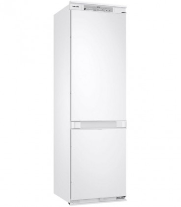 Combina frigorifica incorporabila Samsung BRB260030WW, 267 l, H 177.5 cm, All Around Cooling, Afisaj, Digital inverter, Alb