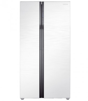 Side by Side Samsung, 538 l, Clasa A+, H 178.9 cm, Full No Frost, Compresor Digital Inverter, Twin Cooling, Alb, RS552NRUA1J