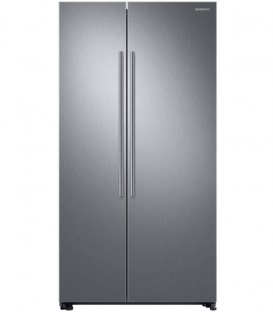 Side by side Samsung RS66N8100S9/EF, 647l, A+, Full No Frost, Twin Cooling, Digital Invertor, Display, H 178cm, Inox