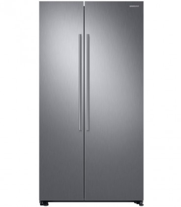 Side by Side Samsung RS66N8100S9, 647 l, Clasa A+, H 178 cm, No Frost, Compresor Inverter, Inox