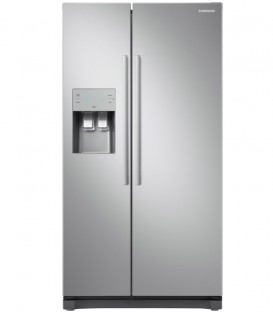 Side by Side Samsung, RS50N3513SA, 501 l, Clasa A+, H 178.9 cm, No Frost, Compresor Inverter, Inox