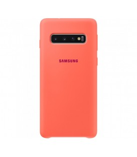 Husa Silicone Cover Samsung Galaxy S10, Berry Pink, EF-PG973THEGWW