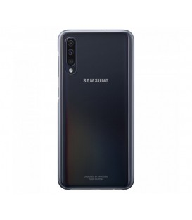 Husa Gradation Cover Samsung Galaxy A70, Black, EF-AA705CBEGWW