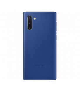 Husa Leather Cover pentru Samsung Galaxy Note 10, Blue EF-VN970LLEGWW
