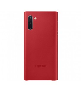 Husa Leather Cover pentru Samsung Galaxy Note 10, Red EF-VN970LREGWW