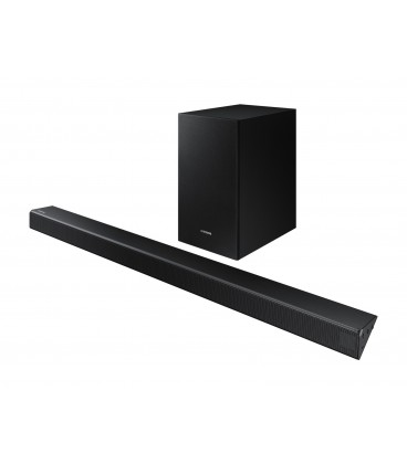 Soundbar Samsung HW-R550, 2.1 Canale, 320W, Wireless Subwoofer, Dolby Digital, DTS, Negru