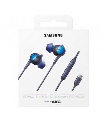 Casti audio Samsung AKG Type-C EO-IC500, Stereo, Black
