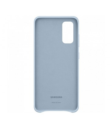 Husa Leather Cover pentru Samsung Galaxy S20, Blue, EF-VG980LLEGEU