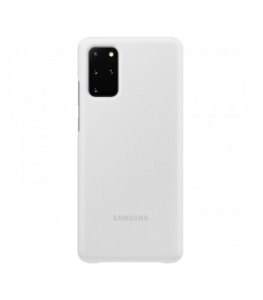 Husa Clear View Cover Samsung Galaxy S20+, White, EF-ZG985CWEGEU