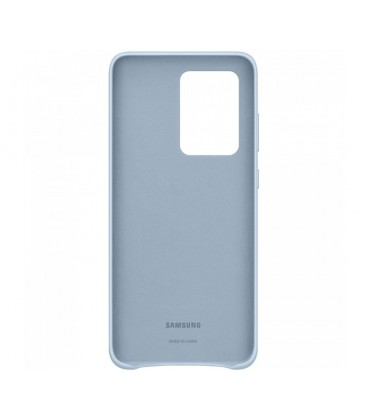 Husa Leather Cover pentru Samsung Galaxy S20 Ultra, Blue, EF-VG988LLEGEU