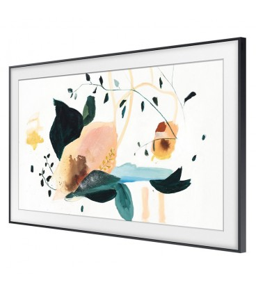 QLED Smart Samsung The Frame 75LS03 (2020), 189 cm, 4k Ultra HD, Supreme UH Dimming, Quantum Dot, Black, QE75LS03TA