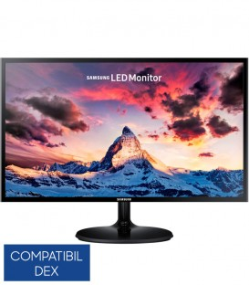 "Monitor Gaming LED Samsung 27"", Full HD, D-Sub, HDMI, Negru, LS27F350FHUXEN"