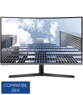 "Monitor LED Samsung 27"" LC27H800FCUXEN, Full HD,  Curved, FreeSync"