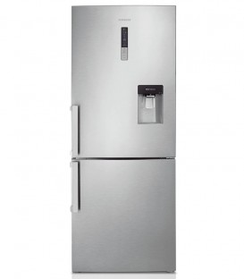 Combina frigorifica Samsung RL4363FBASL, 432l, All Around Cooling, Digital Inverter, Afisaj extern, Clasa A++, Inox