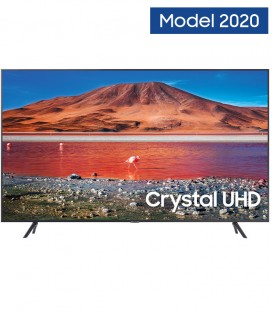LED TV Smart Samsung 55TU7102, 138cm, 4K Ultra HD (2020), HDR, Crystal Display, UE55TU7102
