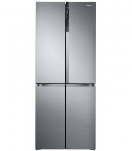 Side by Side Samsung RF50K5920S8, 486 l, Clasa A+, H 192 cm, Triple Cooling, Digital Inverter, Inox