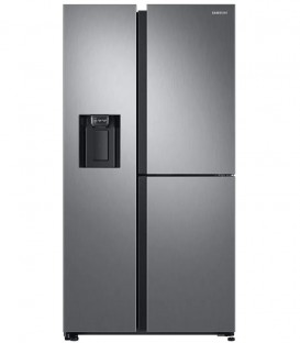 Side by Side Samsung RS68N8650S9, 608L, Twin Cooling Plus, Digital Inverter, Dozator apa, Dozator de gheata, Clasa A+, Inox