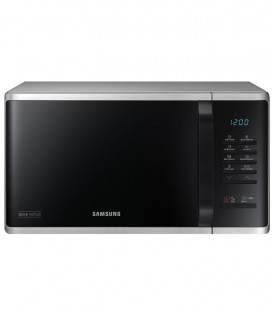 Cuptor cu microunde Samsung MS23K3513AS, 23 L, 800 W, functie Quick Defrost, Silver