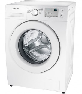Masina de spalat Samsung WW80J3283KW1, 8 kg, 1200 RPM, Clasa A+++, Display LED + tactil, Eco Bubble