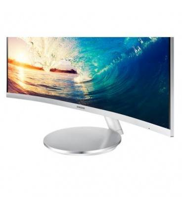 "Monitor LED Samsung 27"" Curved, Full HD, D-Sub, HDMI, Display Port, Alb, LC27F591FD"