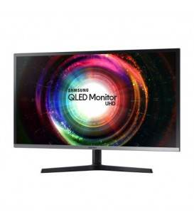 "Monitor VA QLED Samsung 31.5"", Ultra HD, HDMI, Display Port, mini Display Port, Negru, U32H850"