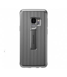Husa Protective Standing Cover Samsung Galaxy S9, Silver