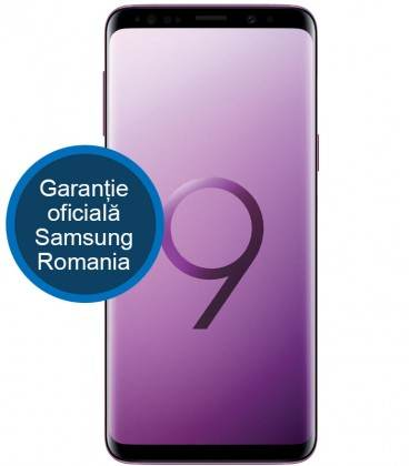 Telefon mobil Samsung G965 Galaxy S9 Plus, Dual SIM, 64GB, LTE, Purple