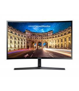 "Monitor LED Samsung 24"" Curved, Full HD, D-Sub, HDMI, Negru, LC24F396FHUXEN"