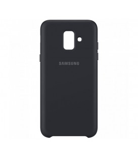 Husa Dual Layer Cover Samsung Galaxy A6 (2018), Black