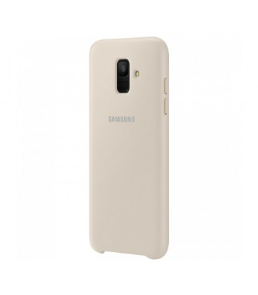 Husa Dual Layer Cover Samsung Galaxy A6 (2018), Gold