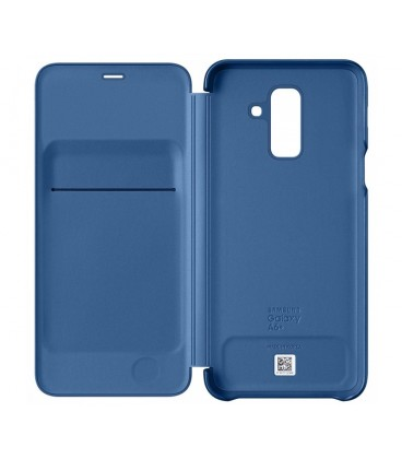 Husa Flip Wallet Samsung Galaxy A6 Plus (2018), Blue