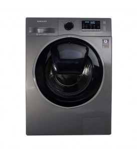 Masina de spalat rufe Samsung Add Wash WW80K44305X, Digital Inverter, Smart Check, 8 kg, 1400 RPM, Clasa A+++, Inox