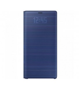 Husa LED View Cover pentru Samsung Galaxy Note 9, Blue