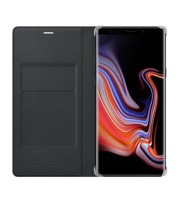 Husa Leather Wallet Cover Samsung Galaxy Note 9, Black