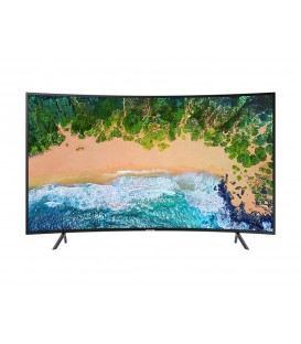LED Smart Samsung Curbat, 138 cm, 55NU7372, 4K Ultra HD HDR