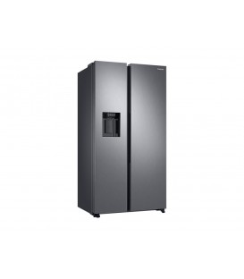 Side by Side Samsung, 617 l, Clasa A++, H 178 cm, No Frost, Compresor Digital Inverter, Twin Cooling Plus, Inox, RS68N8321S9
